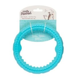 Totally Pooched Totally Pooched Dog Toys | Chew N Tug Ring Teal