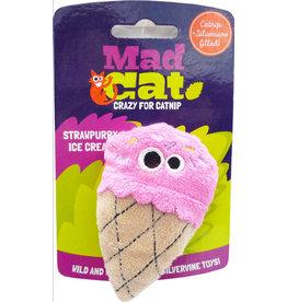Mad Cat Mad Cat Catnip Toys | Strawpurry Ice Cream