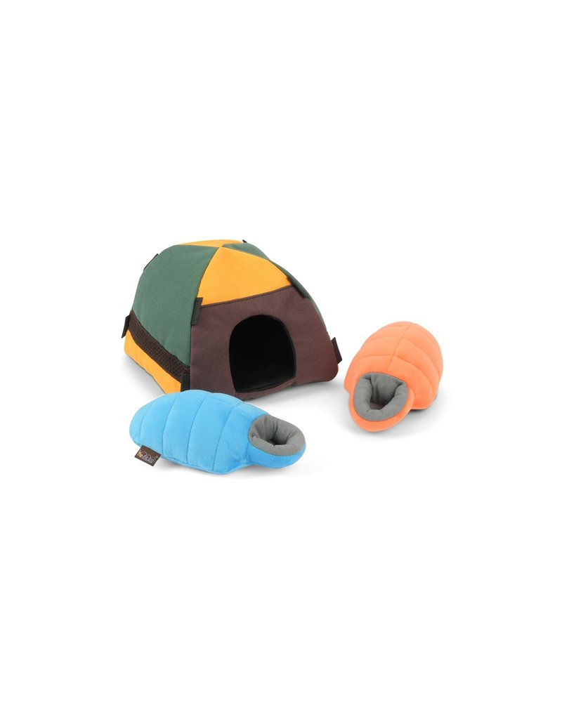 PLAY P.L.A.Y. Dog Toys Camp Corbin Collection   Trailblazing Tent