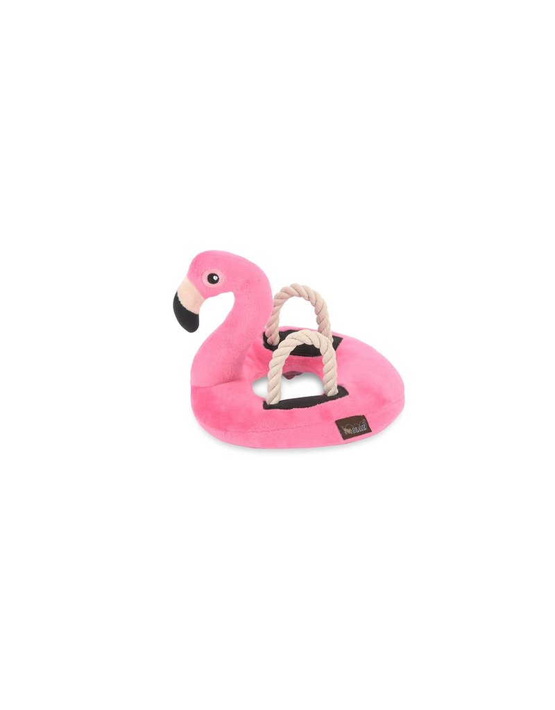 PLAY P.L.A.Y. Dog Toys Tropical Paradise Collection | Flamingo Float