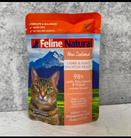 Feline Natural Feline Natural Cat Food Pouches | Lamb & Salmon 3 oz single