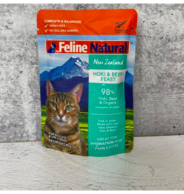 Feline Natural Feline Natural Cat Food Pouches | Hoki & Beef 3 oz single