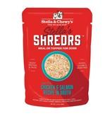 Stella & Chewy's Stella & Chewy's Shredrs Dog Pouches   Chicken & Salmon 2.8 oz CASE