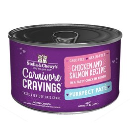Stella & Chewy's Stella & Chewy's Carnivore Cravings Savory Shreds Canned Cat Food | Chicken & Salmon 5.2 oz CASE