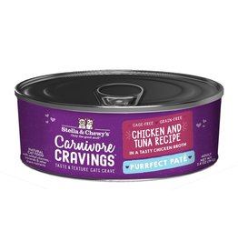 Stella & Chewy's Stella & Chewy's Carnivore Cravings Canned Cat Food Purrfect Pate | Chicken & Tuna 2.8 oz CASE