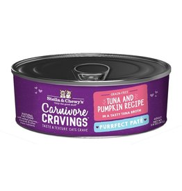 Stella & Chewy's Stella & Chewy's Carnivore Cravings Canned Cat Food Purrfect Pate | Tuna & Pumpkin 2.8 oz CASE