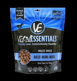 Vital Essentials Vital Essentials Freeze Dried Dog Food | Beef Mini Nibs 16 oz