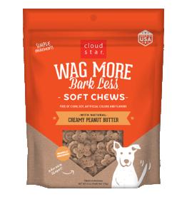 Cloud Star Cloud Star Wag More Bark Less GF Mini Biscuits Peanut Butter & Apples 7 oz