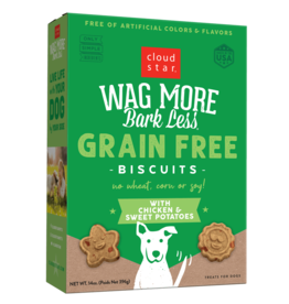 Cloud Star Cloud Star Wag More Bark Less GF Biscuits Chicken & Sweet Potatoes 14 oz