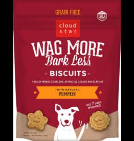 Cloud Star Cloud Star Wag More Bark Less GF Biscuits Pumpkin 2.5 lbs