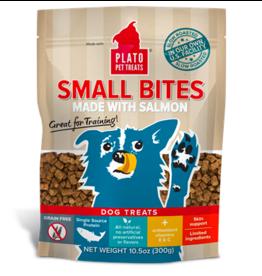 Plato Plato Dog Jerky Treats Small Bites Salmon 10.5 oz