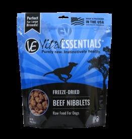 Vital Essentials Vital Essentials Dog Freeze Dried Beef Nibblets 1 lb