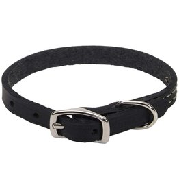 "Coastal Coastal Pet 3/8"" Collar | Black Oak Silver 12"""