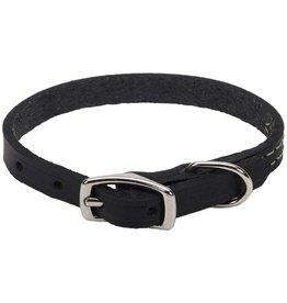"Coastal Coastal Pet 1"" Collar | Black Oak Silver 24"""