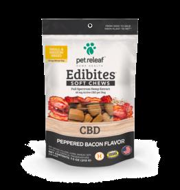 Pet Releaf Pet Releaf Edibites Soft Chews | CBD Peppered Bacon 7.5 oz