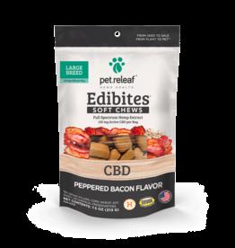 Pet Releaf Pet Releaf Edibites Soft Chews | CBD Peppered Bacon Large Breed 7.5 oz