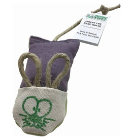 From the Field From the Field Catnip Toys | Shelby the Hemp Mouse
