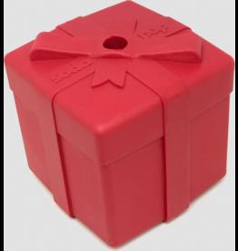 SodaPup SodaPup Holiday Dog Toy | Present Treat Dispenser Medium