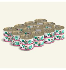 Weruva Best Feline Friend Canned Cat Food CASE of 12 Tuna & Pumpkin Valentine 5.5 oz