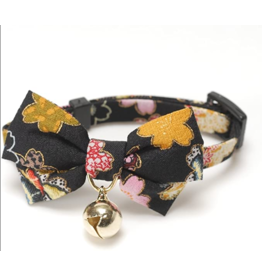 Necoichi Necoichi Cat Collar | Yukata Bow Tie Blue