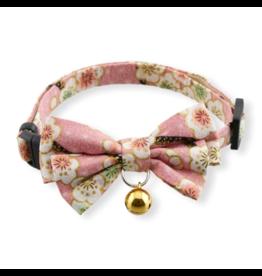 Necoichi Necoichi Cat Collar | Hanami Bow Tie Pink