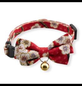 Necoichi Necoichi Cat Collar | Hanami Bow Tie Red