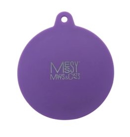 Messy Mutts Messy Mutts Can Lid | Purple