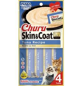 Inaba Inaba Cat Churu Puree Skin & Coat | Tuna Recipe 4 pk