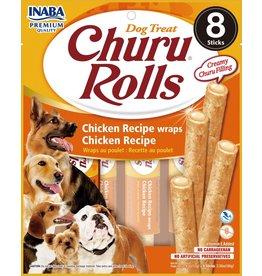 Inaba Inaba Dog Churu Rolls | Chicken Recipe 8 pk
