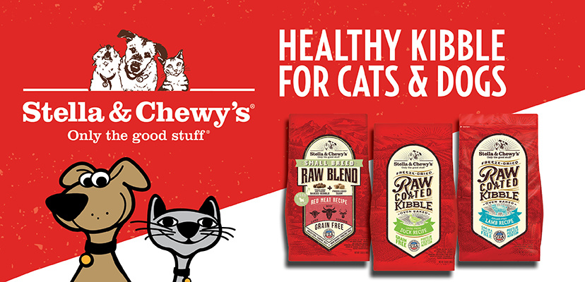 Stella & Chewy's Healthy Kibble For Cats & Dogs