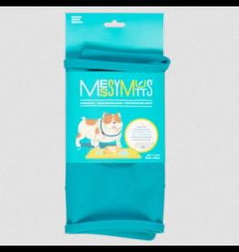 Messy Mutts Messy Mutts Food Mat | Blue Medium