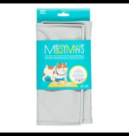 Messy Mutts Messy Mutts Food Mat | Light Gray Medium