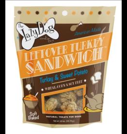 Lazy Dog Cookie Co. Lazy Dog Soft Baked Dog Treats Leftover Turkey Sandwich 5 oz