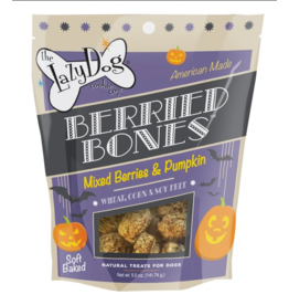 Lazy Dog Cookie Co. Lazy Dog Soft Baked Dog Treats Halloween Berried Bones 5 oz