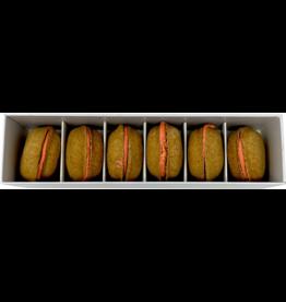 Bonne et Filou Bonne et Filou Dog Treats | Pumpkin Macarons 6 ct