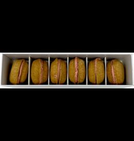 Bonne et Filou Bonne et Filou Dog Treats | Salted Caramel Macarons 6 ct
