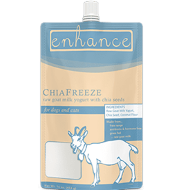 Steve's Real Food Steve's Real Food Enhance Raw Goat Milk | ChiaFreeze 16 oz (*Frozen Products for Local Delivery or In-Store Pickup Only. *)