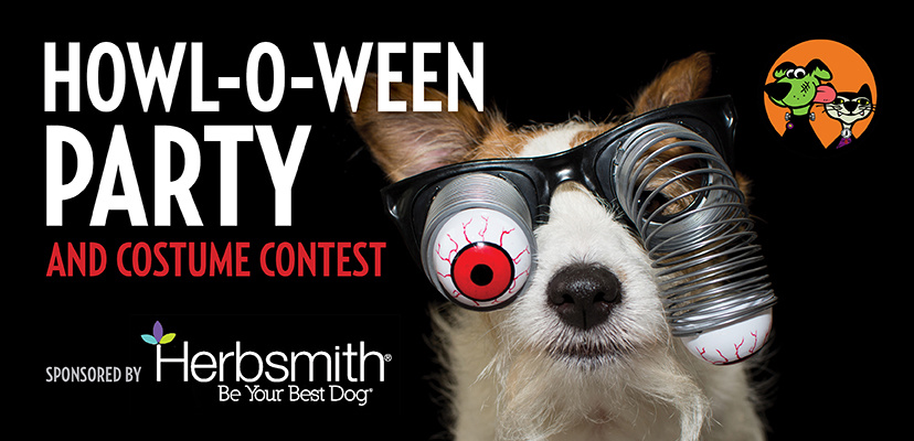 HOWL-o-ween Party & Costume Contest For Your Pet