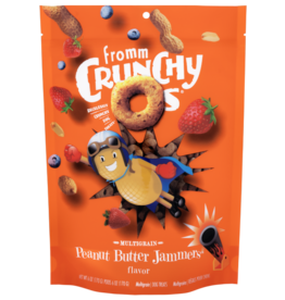 Fromm Fromm Crunchy-O's Dog Treats | Multigrain Peanut Butter Jammers 6 oz