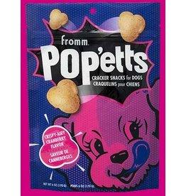 Fromm Fromm Pop'etts Dog Treats | Crispy-Airy Cranberry 6 oz
