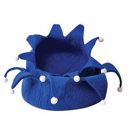"Distinctly Himalayan Distinctly Himalayan Pet Basket   Holiday Petal Blue 20"""