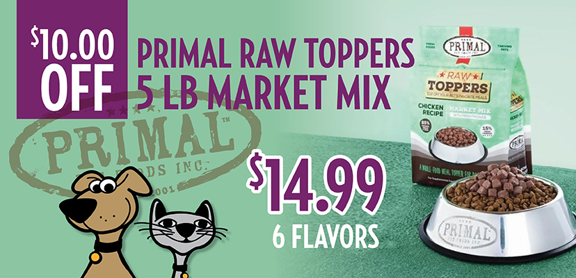 Boost Your Dog's Bowl With Primal Market Mix