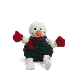 HuggleHounds HuggleHounds 2021 Holiday HuggleFleece | Snowman FlufferKnottie Large