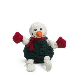 HuggleHounds HuggleHounds 2021 Holiday HuggleFleece | Snowman FlufferKnottie Small