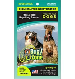 Zero Bug Zone Products  Flea & Tick Double Pack for Dogs