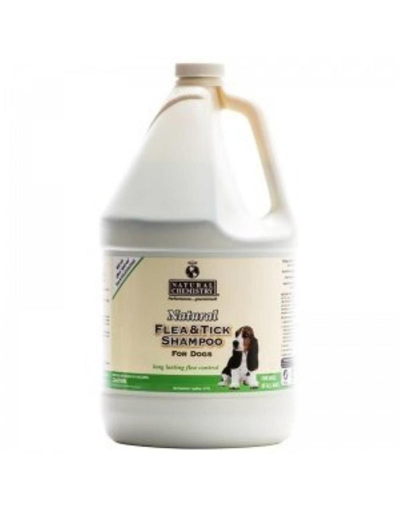 Natural Chemistry Shampoo Flea & Tick For Dogs 1 gallon