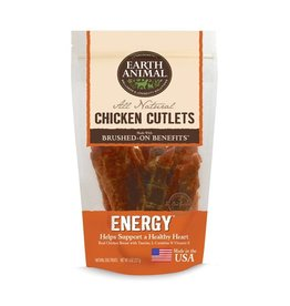 Earth Animal Earth Animal Dog Jerky Treats Energy Chicken 8 oz