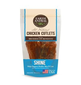 Earth Animal Earth Animal Dog Jerky Treats Shine Chicken 8 oz