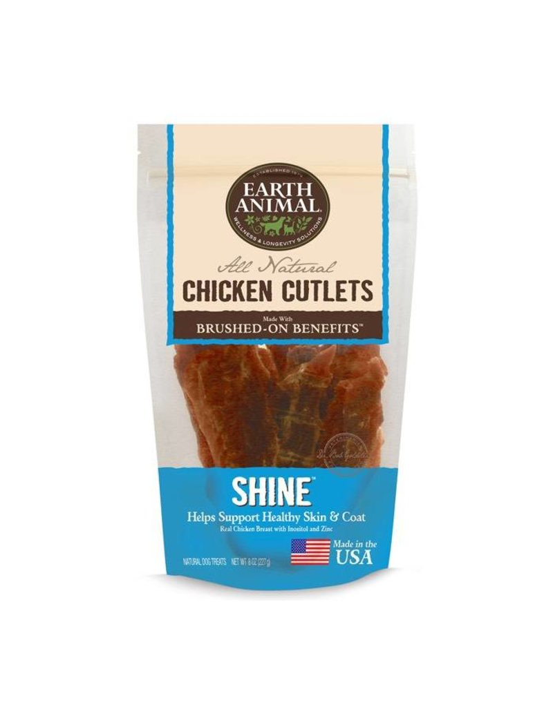 Earth Animal Earth Animal Dog Jerky Treats Shine Chicken 8 oz