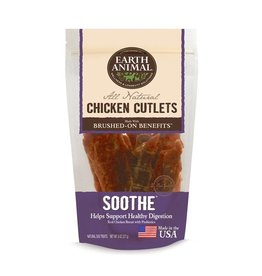 Earth Animal Earth Animal Dog Jerky Treats Soothe Chicken 8 oz